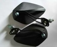 Black Aluminium Mirrors includes