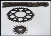 Suzuki Gn Sprocket And Chain Set