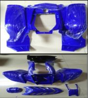 Quad Bike Plastics Blue or Black